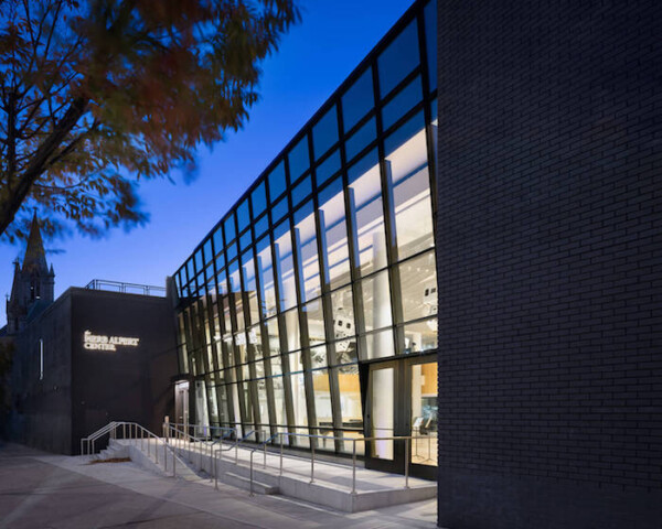 The Harlem School of the Arts renovated facility featured at Azure architecture and design mag. New facade.