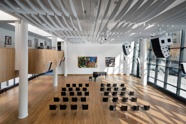 Harlem School of the Arts renovated with the help of the Herb Alpert Foundation. WSDG engaged for acoustics services.