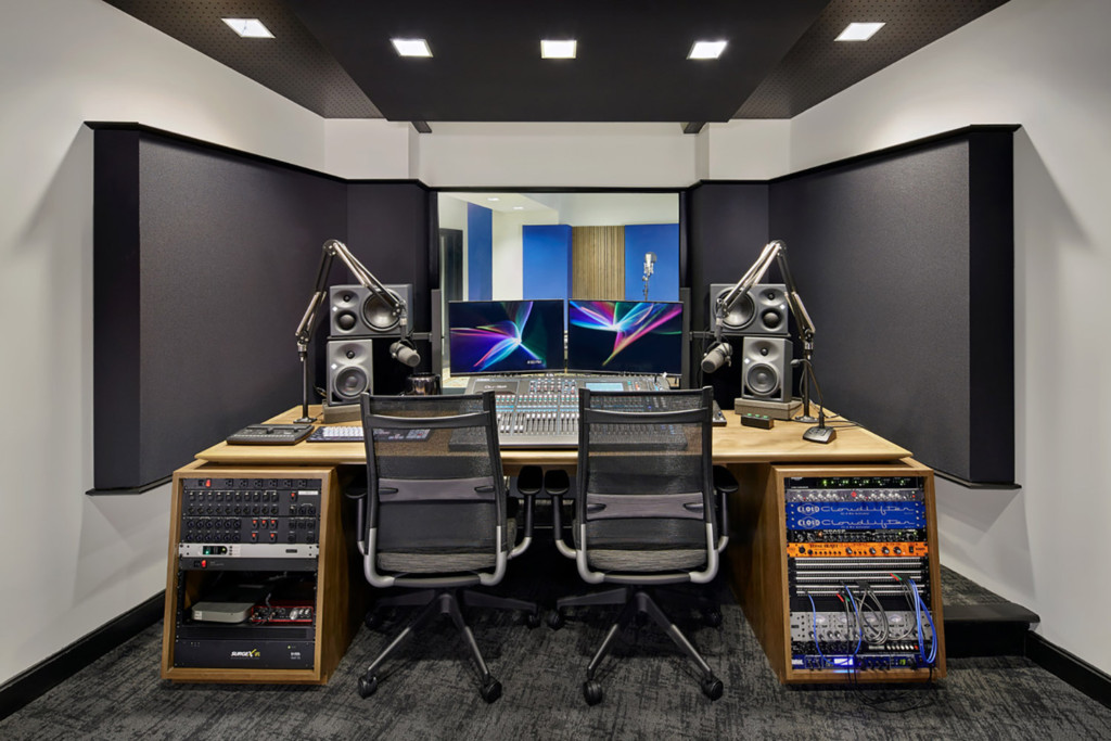 Stitcher is among the earliest, the most creative and most successful podcast creator companies. Their team made a move to build out larger production facilities in both its NY and LA offices and they chose WSDG to design their new podcast studios facilities. Control A.