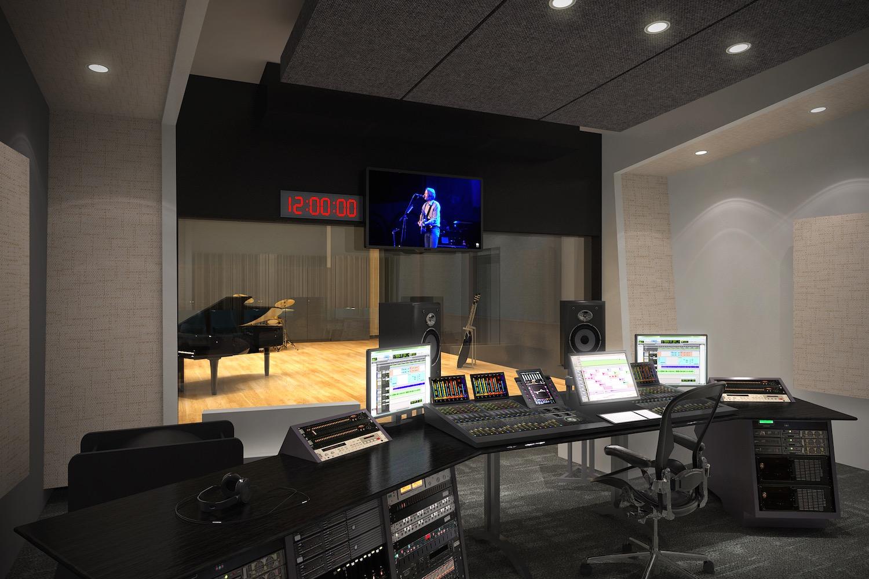 Studio Control Room Design