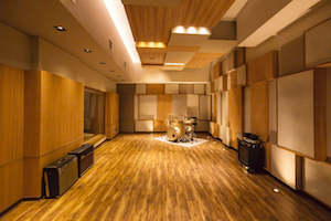 55TEC Studio in Beijing, China - New World-Class Recording Studio designed by WSDG owned by Li You. Live Room. Featured at Unique Homes.