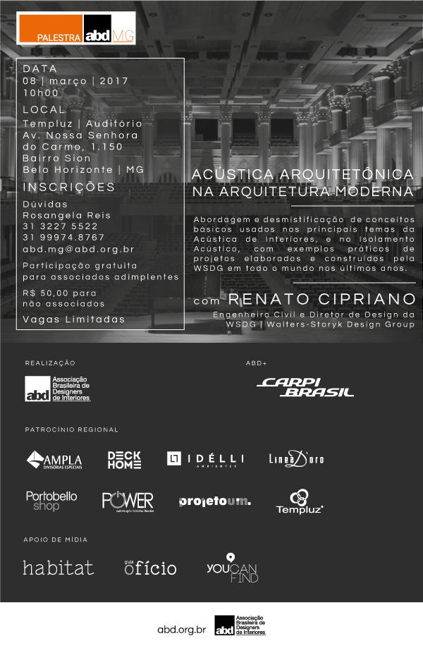 ABD | Associação Brasileira de Designers de Interiores Flyer