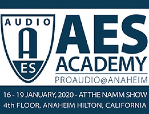 AES Academy at NAMM 2020