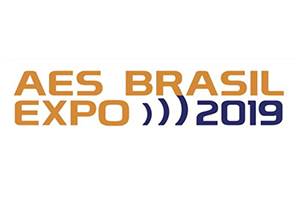 AES Brasil Expo 2019. Audio Engineering Society Expo and Conference in Sao Paulo, Brazil. Renato Cipriano from WSDG Conference.