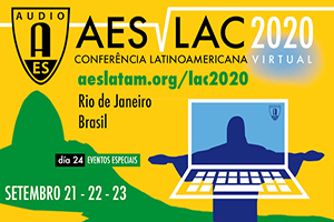 AES LAC 2020 Virtual Official Logo