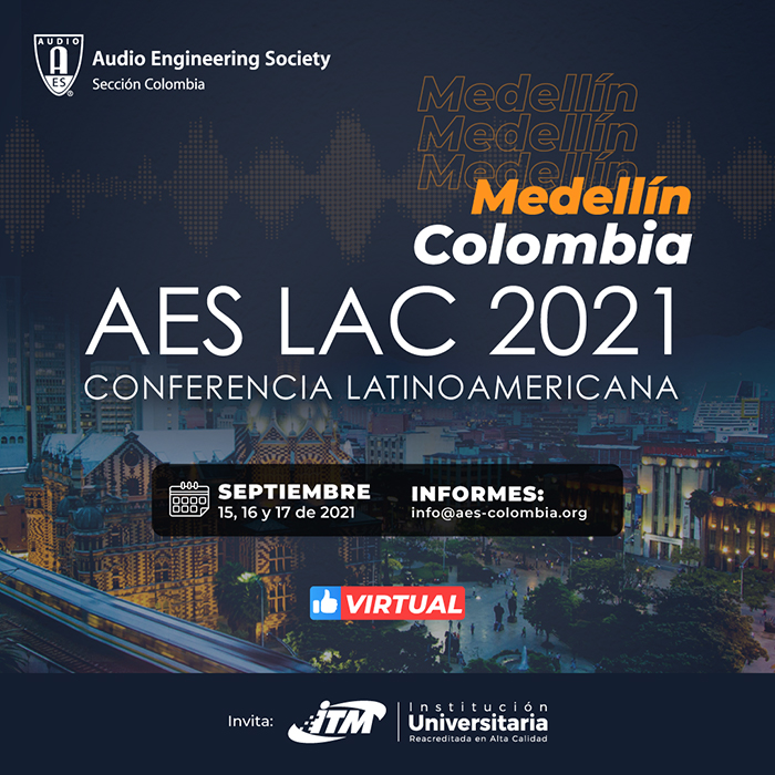 AES LAC 2021 in medellin. WSDG is a diamond sponsor of this event.