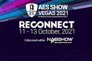 AES 2021 in Las Vegas. Official Logo.