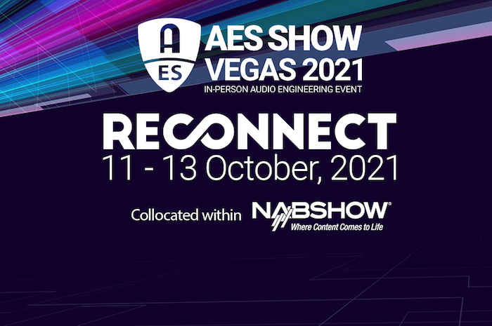 AES Show 2021 in Las Vegas. WSDG attending and giving a lecture.