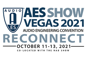 AES Show 2021 in Las Vegas. WSDG will be giving a lecture.