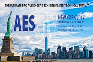 AES 143rd in New York City, at the Javits Convention Center. October 2017. WSDG Booth and Lectures.
