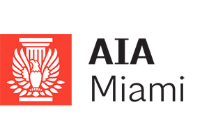 The American Institute of Architect, Miami brach official logo.