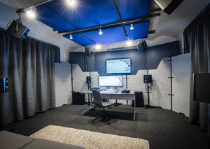 WSDG AcousticLab in Basel, Switzerland. Space design to properly