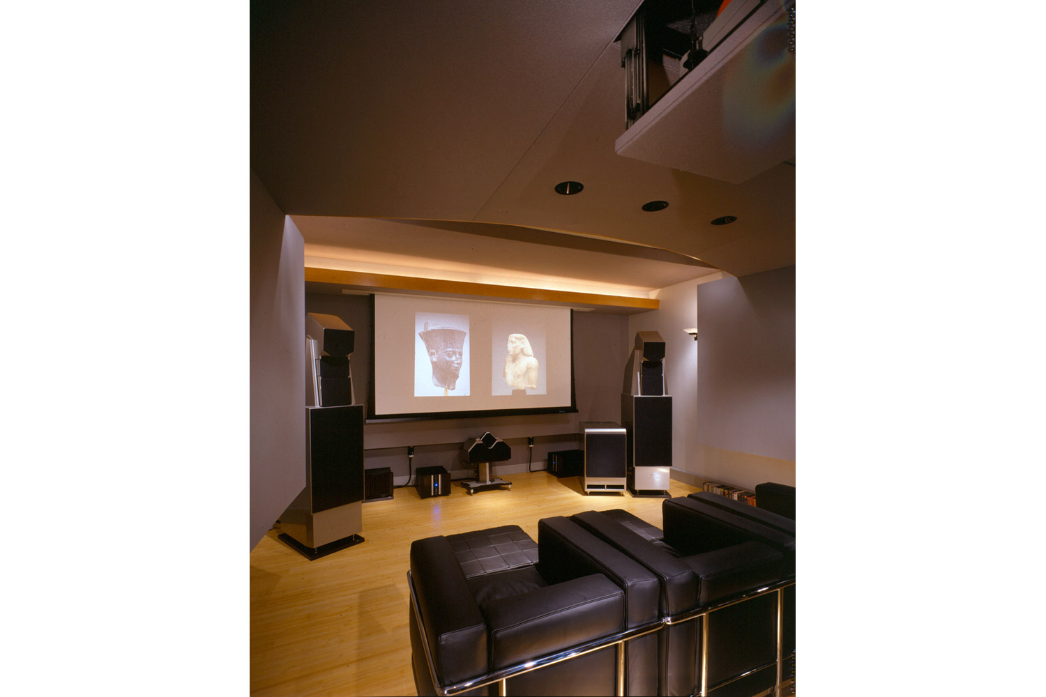 Home Theater Design Group Dallas Alan May Listening Room Amp Home Theater  Wsdg