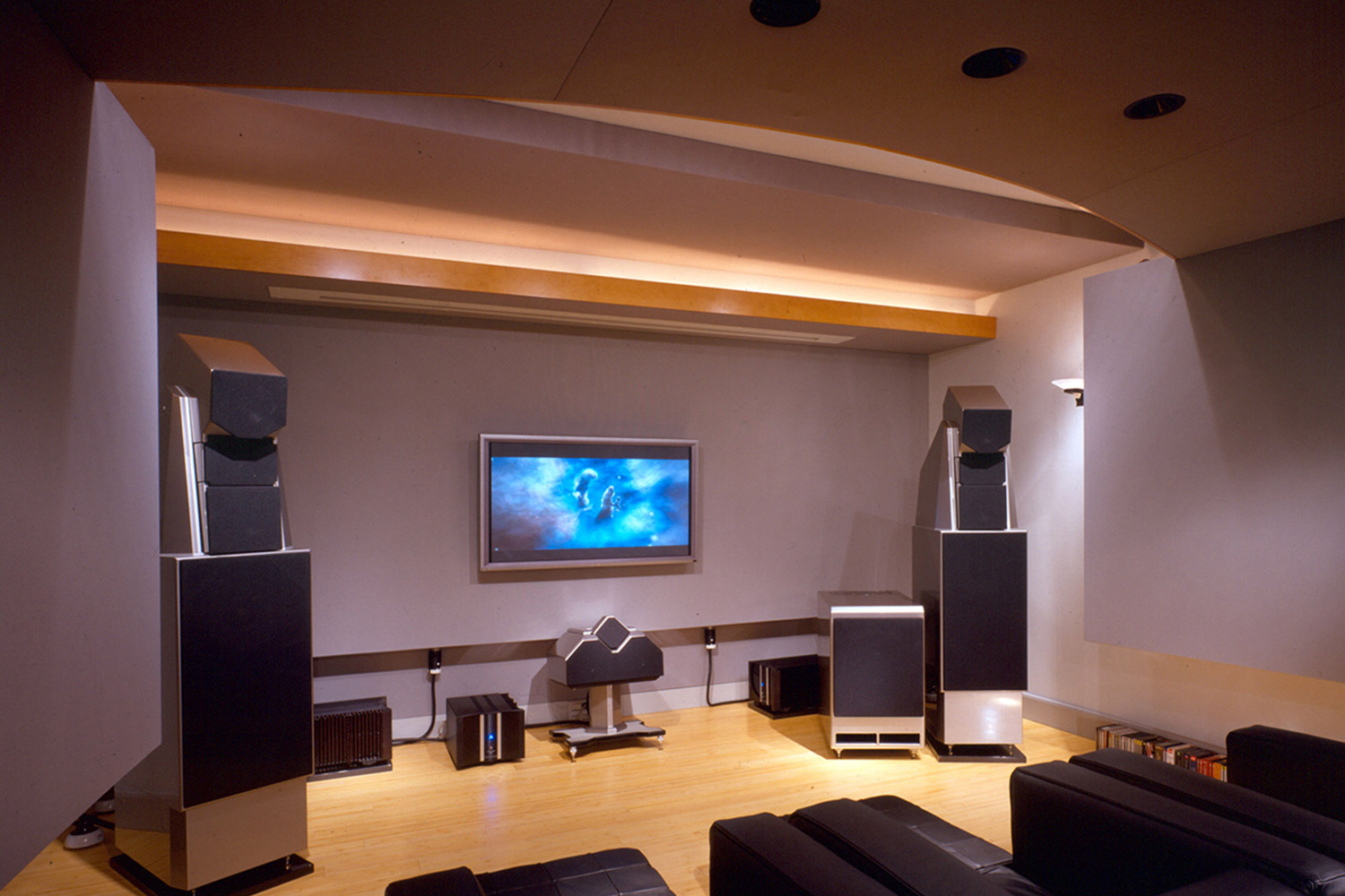 Alan May Listening Room Amp Home Theater Wsdg