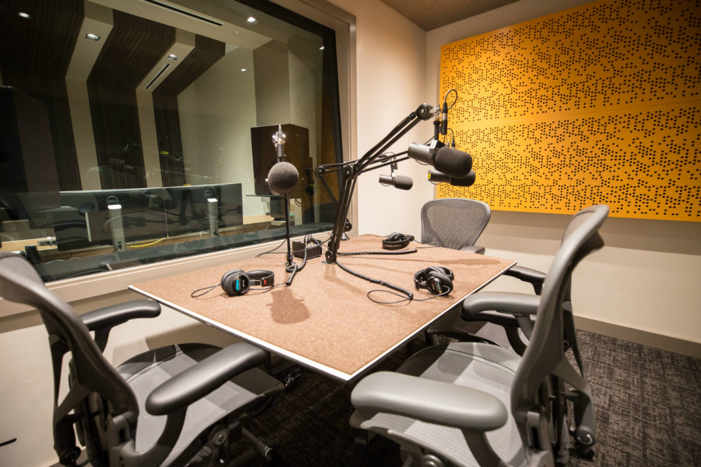 Audible is the world's largest producer/distributor of downloadable audiobooks and other spoken-word entertainment. WSDG was commissioned to design their new state-of-the-art recording studio complex. Live Room B