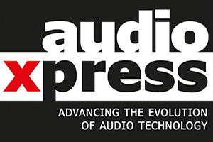 Audio Express online magazine official logo.