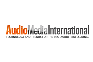 Audio Media International Magazine. Logo 2019 featured at WSDG.