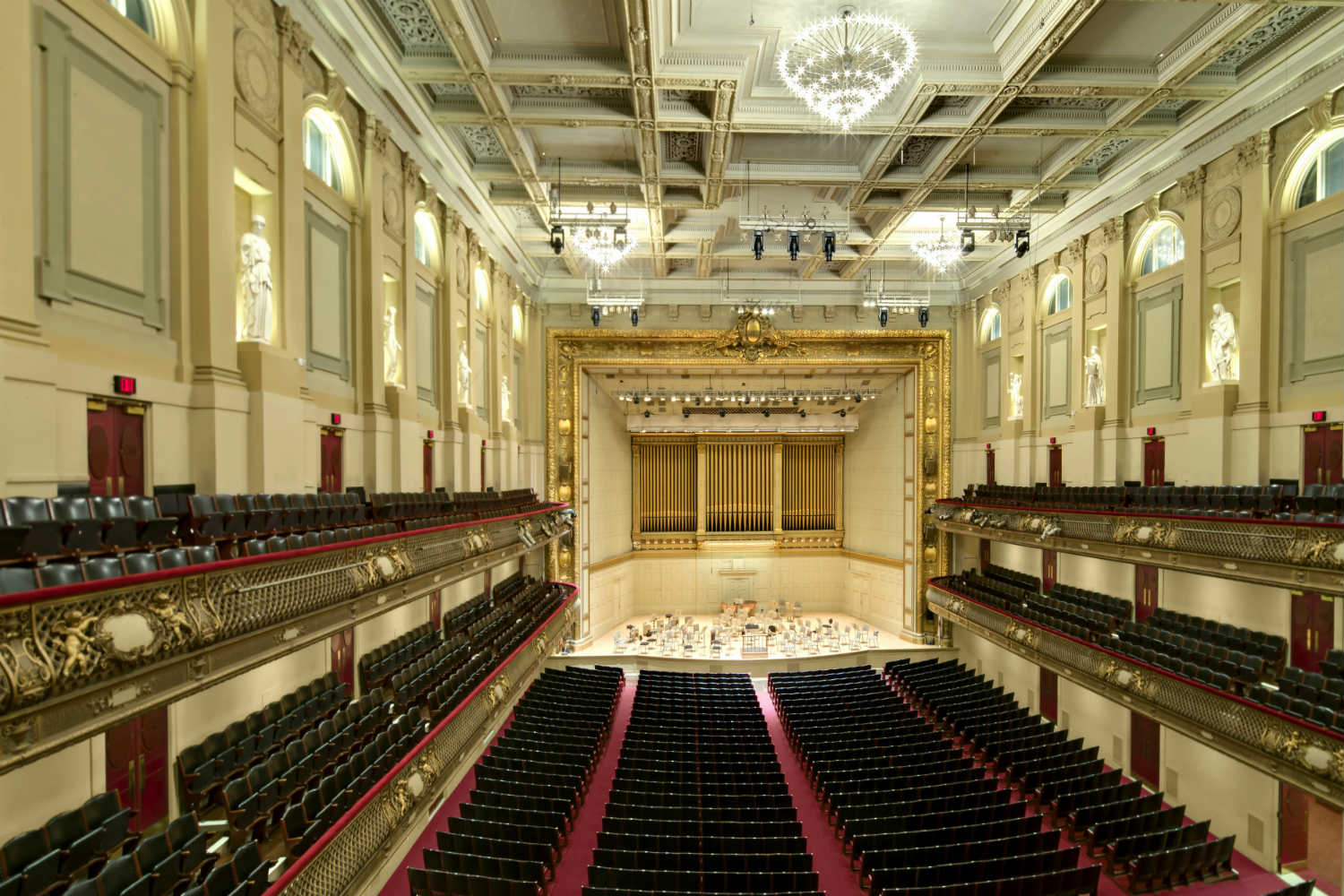 Boston Symphony Orchestra Venue and Live Room