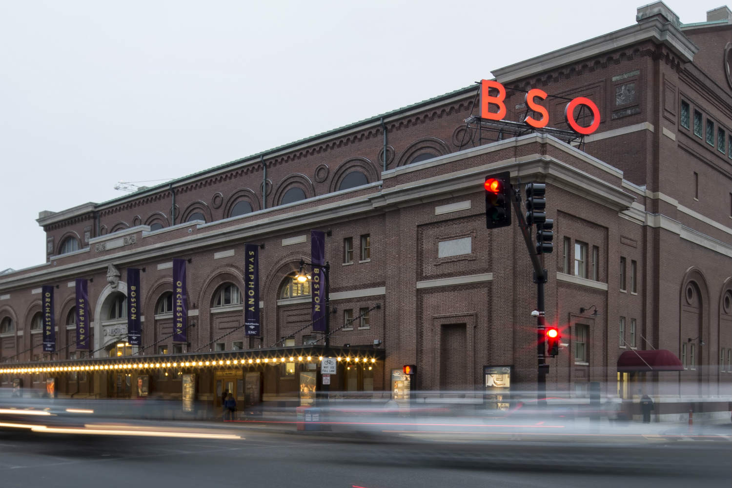 Boston Symphony Hall, home of the Boston Symphony Orchestra