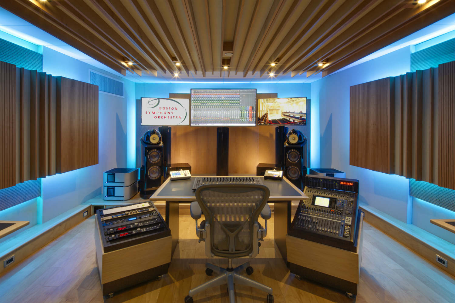 Boston Symphony Orchestra Control Room WSDG