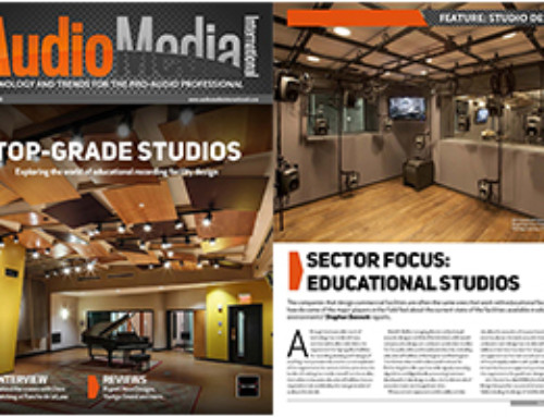 AMI Cover: Top-Grade Studios at Educational Facilities