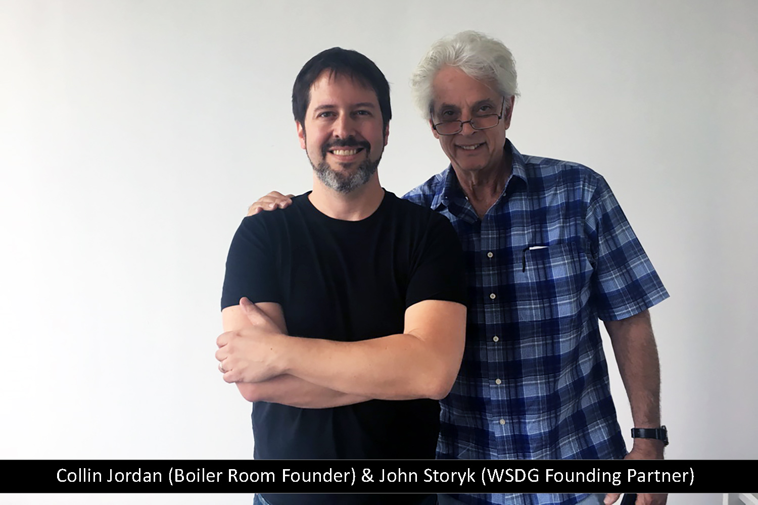 Top mastering engineer and Boiler Room founder Collin Jordan inquired WSDG to fully design his new mastering room in Chicago. WSDG's balance of technical acoustics and artistic design was spot on and made it easy to make the decision. Collin Jordan and John Storyk.