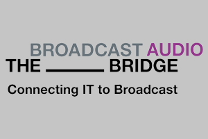 The Broadcast Bridge Official Logo. Communicating IT with Broadcast. WSDG Podcast.