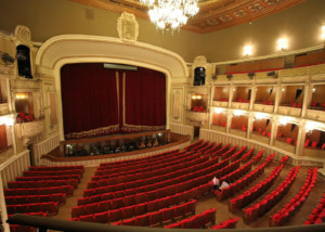 Bucharest Nation Opera main view, room acoustics and auralization by ADA-AMC, a WSDG company