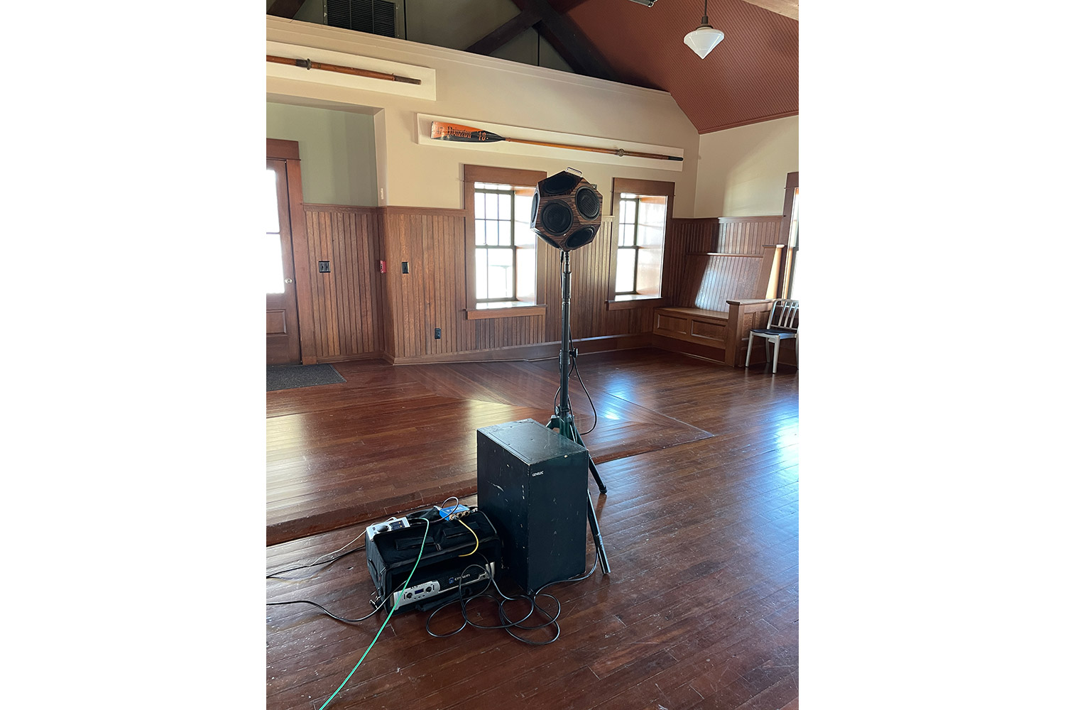 WSDG performed acoustic measurements at the Cornell Boathouse at Marist College.