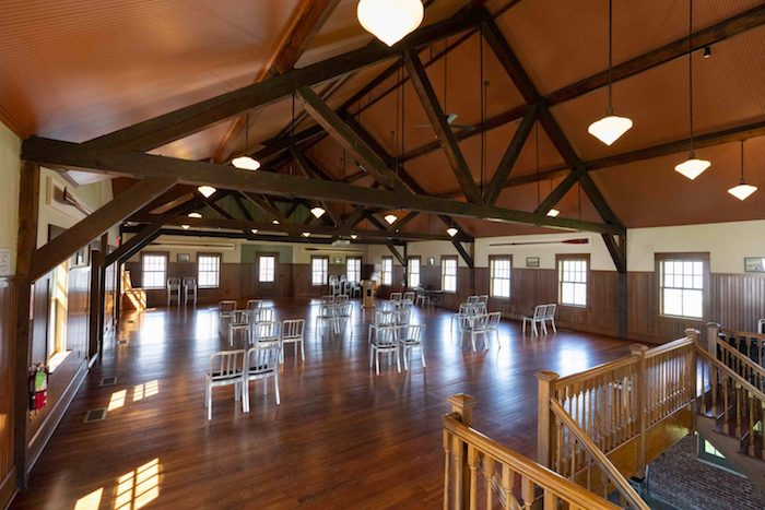 Cornell Boathouse at Marist College. New acoustic upgrades by WSDG.