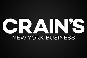 Crain's New York Official Logo. WSDG and John Storyk featured at the prestigious magazine.