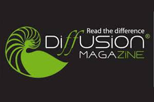 Diffusion Magazine from Colombia, Official Logo.