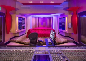 Two of the contemporary music scene's most prolific hit producers and mixing engineer, Nate 'Danja' Hills and Marcella Araica have added a cutting edge, WSDG recording studio to their N.A.R.S. (New Age Rock Stars) label. Studio A, Marcella's studio.