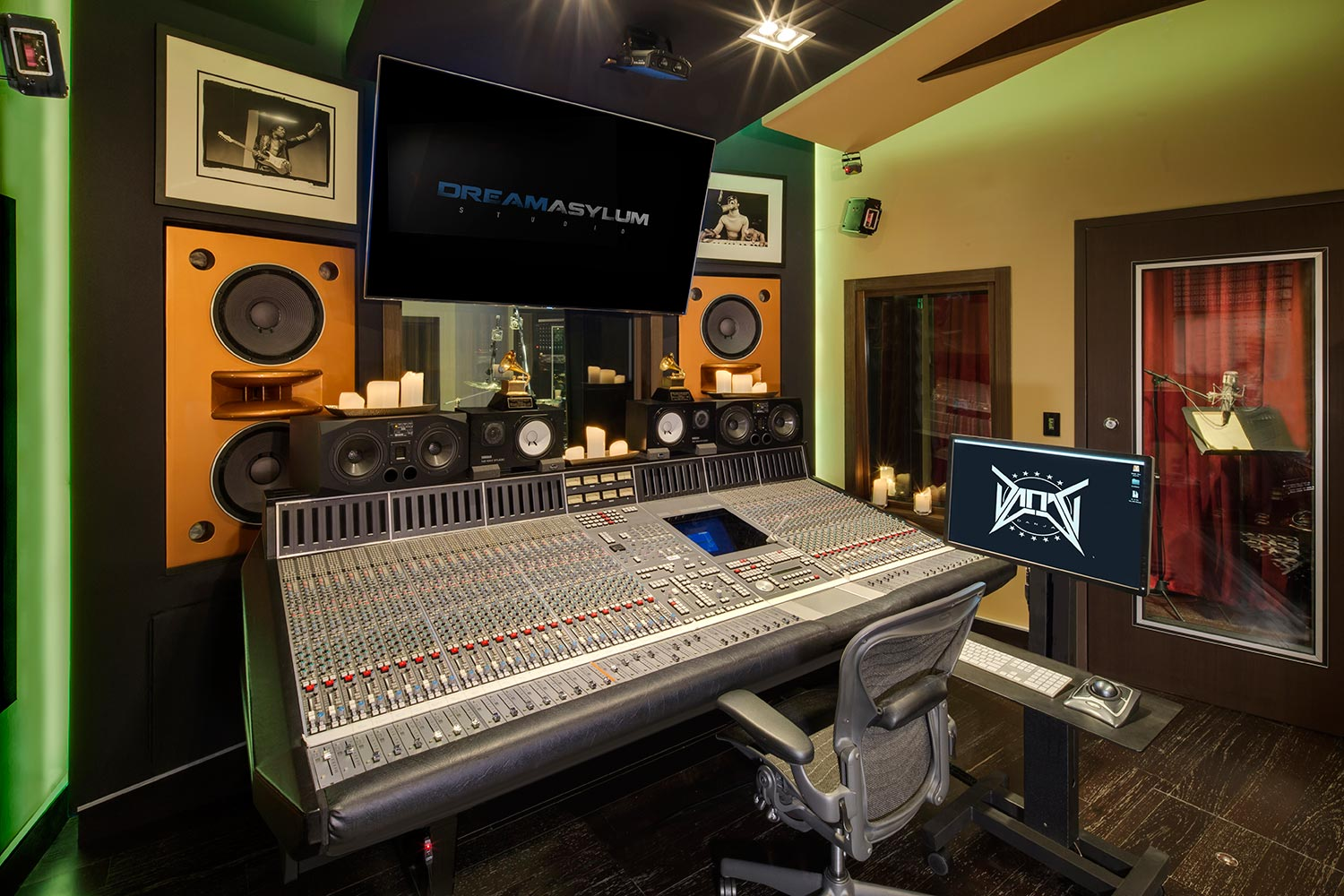 Two of the contemporary music scene's most prolific hit producers and mixing engineer, Nate 'Danja' Hills and Marcella Araica have added a cutting edge, WSDG recording studio to their N.A.R.S. (New Age Rock Stars) label. Danja Studio, Studio X.