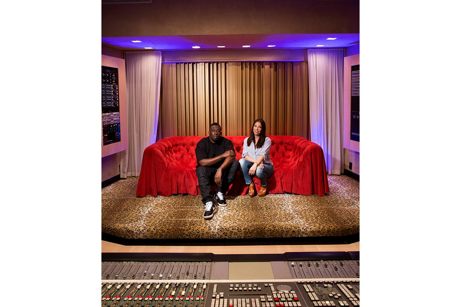 Two of the contemporary music scene's most prolific hit producers and mixing engineer, Nate 'Danja' Hills and Marcella Araica have added a cutting edge, WSDG recording studio to their N.A.R.S. (New Age Rock Stars) label. Danja and Marcella Araica for MIX.
