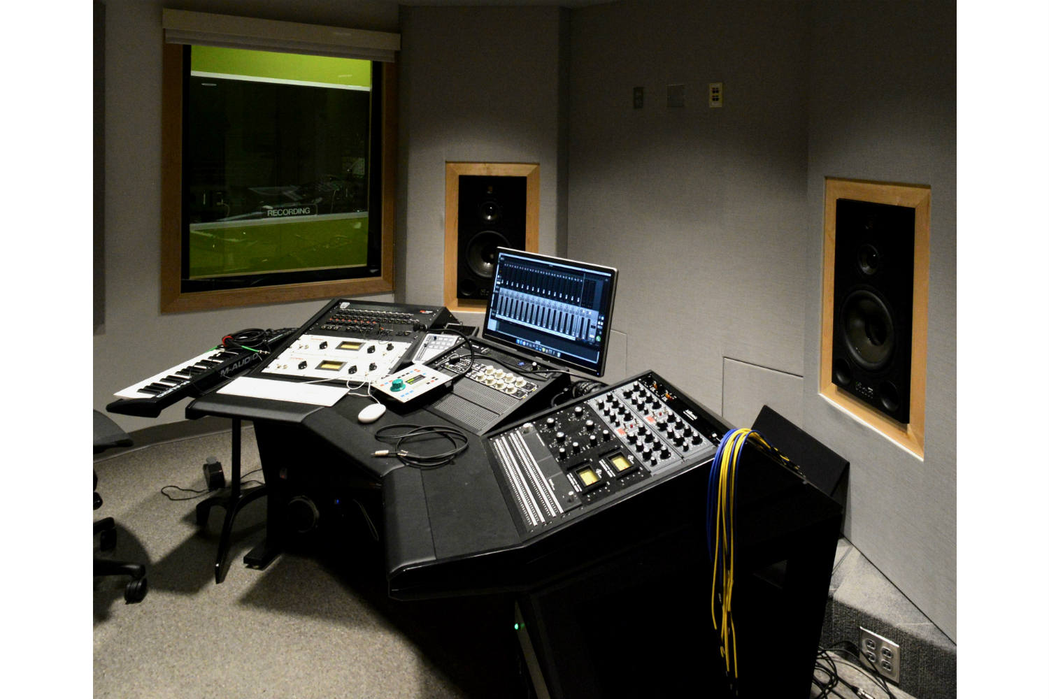 Drexel University in Philadelphia, PA is one of America's 15 largest universities. Their brand-new recording facilities, designed by the WSDG team, expands their music and recording program. Control Room B