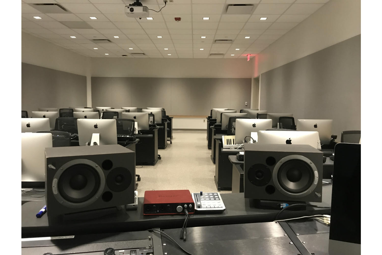 Drexel University in Philadelphia, PA is one of America's 15 largest universities. Their brand-new recording facilities, designed by the WSDG team, expands their music and recording program. MIDI Lab professor point of view