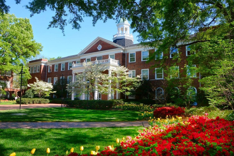 ELON University Facade.