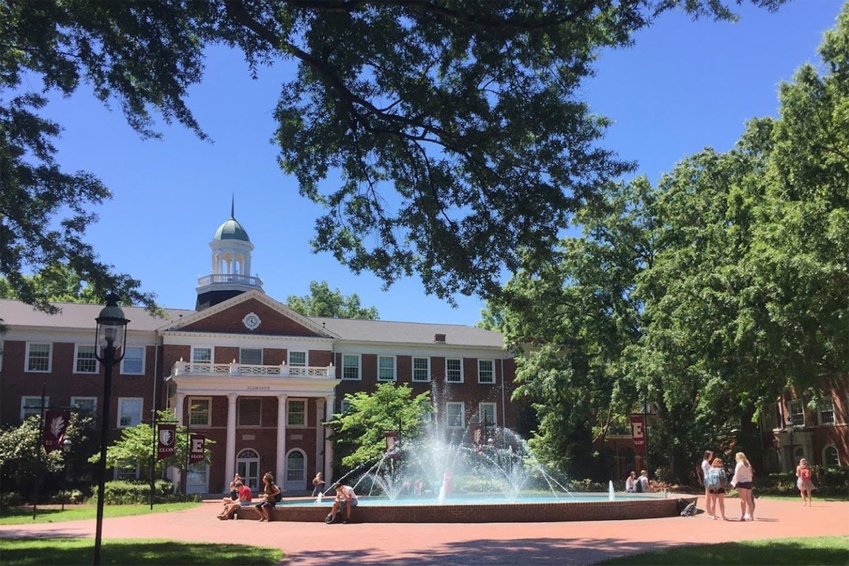 ELON University in North Carolina.