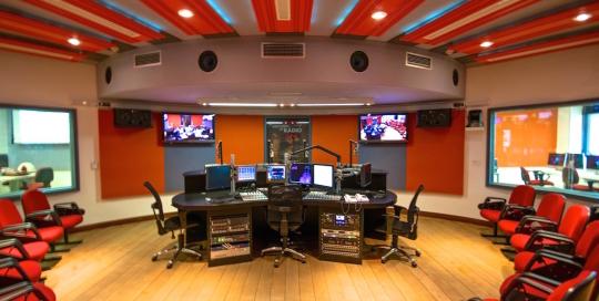 ESPM Broadcasting Teaching Center in Brazil, WSDG designed broadcasting recording studio.