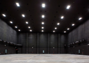 Viacom International/EUE/Screen Gems Studios recently completed construction on an 88,000 sq. ft. studio complex in Miami. WSDG was reached for an intensive feasibility study, cost/benefit analysis, and AV Systems Integration. Main area.
