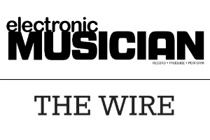 Electronic Musician, The Wire Logo