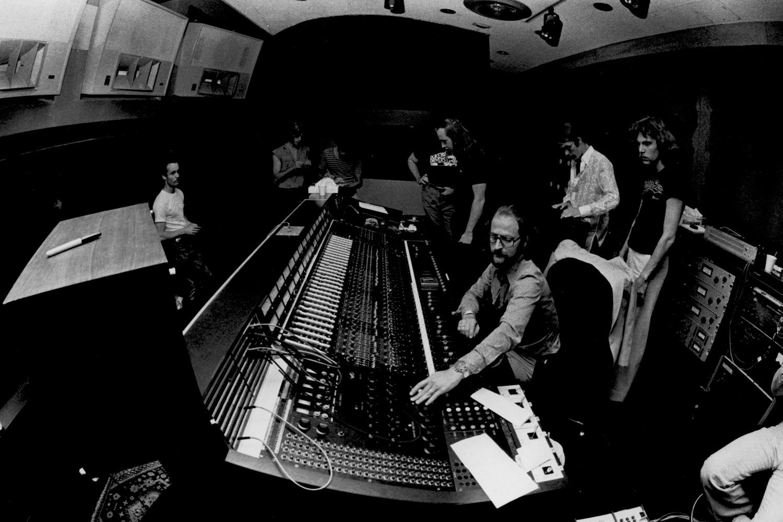 Electric Lady Studios, designed by WSDG in 1969. Jimi Hendrix Studio, Eddie Kramer Engineer, John Story architect and designer. WSDG 1st studio.