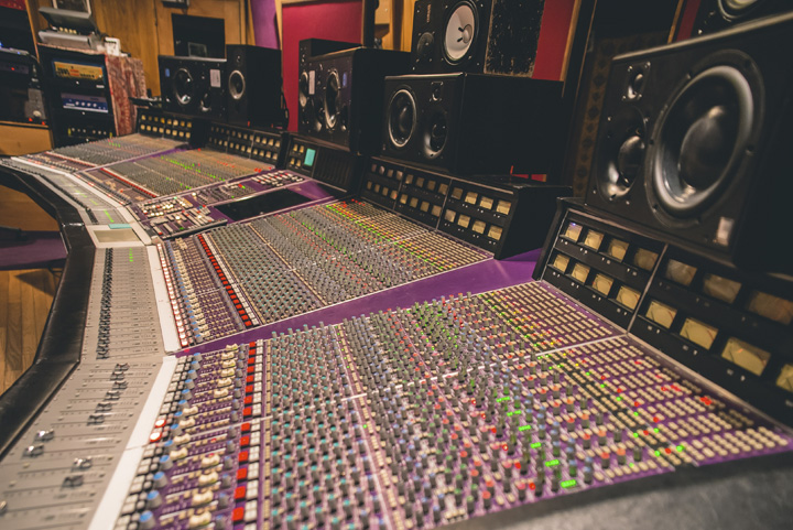 Electric Lady Studios, first artist studio designed by WSDG in 1969 - Jimi Hendrix Studio.