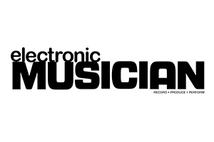 Electronic Musician Official Logo.