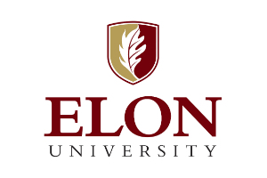 Elon University Logo. John Storyk & WSDG Lectures and Education about Architecture and acoustics.