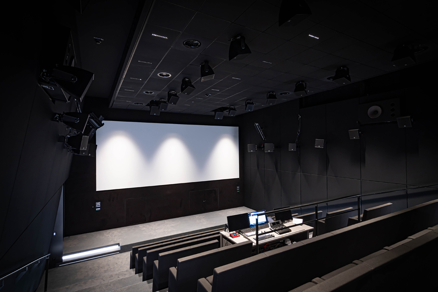 The University of Music and Performing Arts of Vienna new Future Art Lab designed by WSDG. Arthouse Kino.