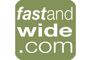 Fast and Wide Online Magazine from United Kingdom. Logo.