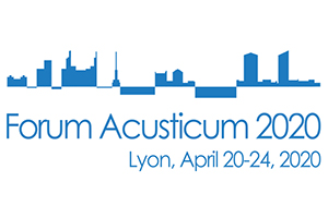 Forums Acusticum 2020 Official Logo.