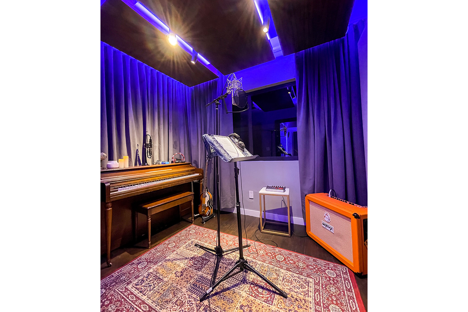 Groovyland Studios Live Room. E-Studio designed by WSDG and owned by David Molho.